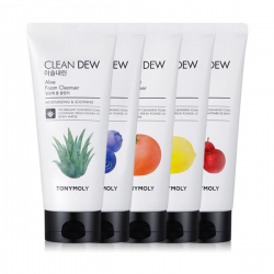 Clean Dew Foam Cleanser [Tony Moly] | Пенка увлажняющая