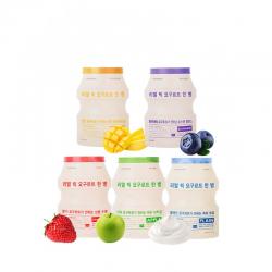 Йогуртовая маска для лица Real Big Yogurt One-Bottle