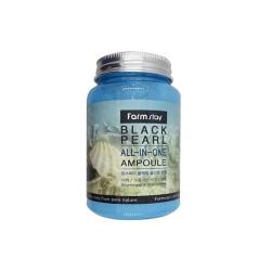 Многофункциональная ампульная сыворотка с экстрактом черного жемчуга Farm stay Black Pearl All In One Ampoule