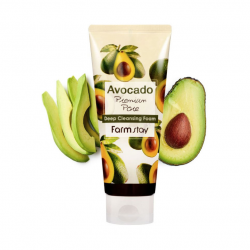 Очищающая пенка с экстрактом авокадо Farm stay Avocado Premium Pore Deep Cleansing Foam