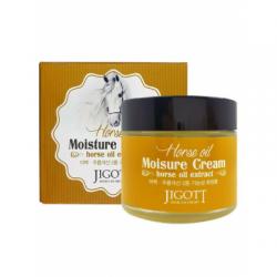 Увлажняющий крем с лошадиным маслом JIGOTT Horse Oil Moisture Cream