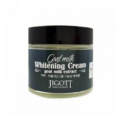 Увлажняющий крем с экстрактом козьего молока JIGOTT Goat Milk Whitening Cream