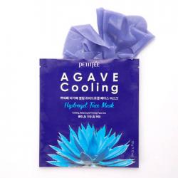 Охлаждающая маска с экстрактом агавы Petitfee Agave Cooling Hydrogel Face Mask