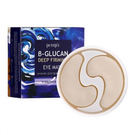 Тканевые патчи для глаз c бета-глюканом Petitfee B-Glucan Deep Firming Eye Mask