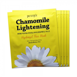 Гидрогелевая маска экстрактом ромашки Petitfee Chamomile Lightening Hydrogel Face Mask