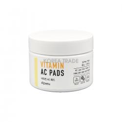 Пилинг-диски с AHA и BHA кислотами и витаминами Vitamin AC Pad