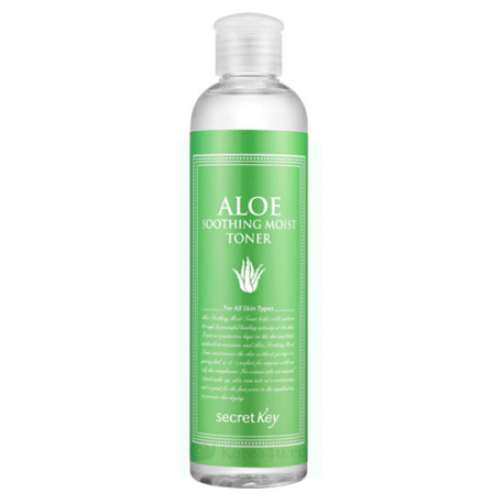 Aloe Soothing Moist Toner [Secret Key] | Тоник увлажняющий