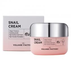 Крем для лица с улиточным муцином VILLAGE 11 FACTORY Snail Cream