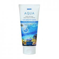JIGOTT Пенка для умывания с аквамарином Natural Aqua Foam Cleansing
