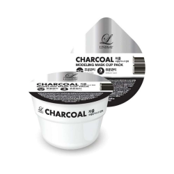 Lindsay Альгинатная маска с древесным углем Charcoal Modeling Mask Cup Pack