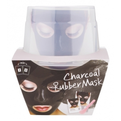 Lindsay Альгинатная маска с древесным углем (пудра+активатор) Charcoal Magic Mask