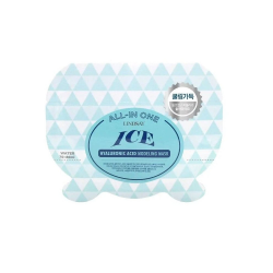 Lindsay Альгинатная маска с гиалуроновой кислотой All-in One Ice Hyaluronic Modeling Mask