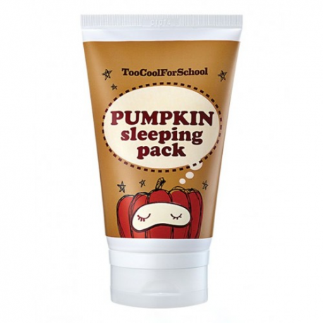 Ночная тыквенная маска Too Cool For School Pumpkin Sleeping Pack
