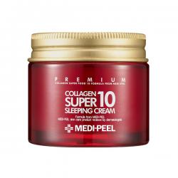 Ночной крем для лица с коллагеном MEDI-PEEL Collagen Super10 Sleeping Cream