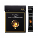 Ночная питательная маска с икрой и золотом JM SOLUTION ACTIVE GOLDEN CAVIAR SLEEPING CREAM PRIME