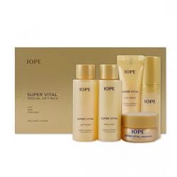 Антивозрастной набор миниатюр IOPE Super Vital Special Gift Rich (тонер+ эмульсия+ сыворотка+ крем д/лица+ крем д/глаз)