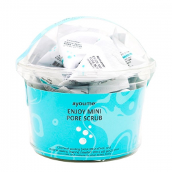 Скраб для лица с содой и кислотами AYOUME ENJOY MINI PORE SCRUB