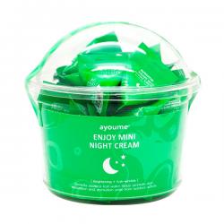 Ночной крем для лица с центелой азиатской AYOUME ENJOY MINI NIGHT CREAM