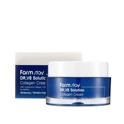 Крем с коллагеном FarmStay Dr V8 Solution Collagen Cream