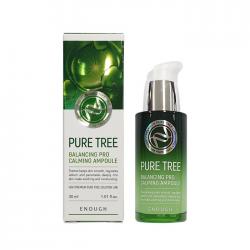 Сыворотка с экстрактом чайного дерева ENOUGH Pure Tree Balancing Pro Calming Ampoule
