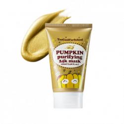 Маска-пленка с золотом Too Cool For School Pumpkin Purifying 24K Mask