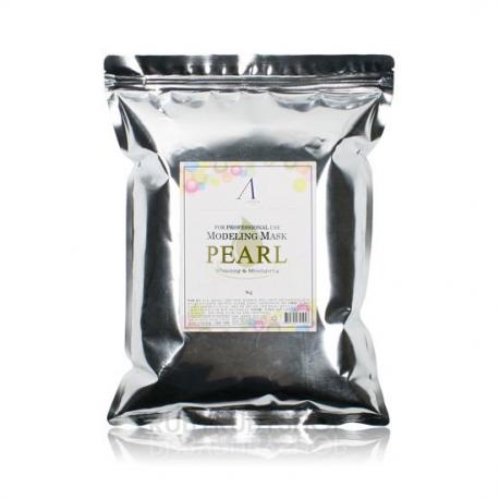 Pearl Modeling Mask [Anskin] | Маска альгинатная с жемчугом осветляющая